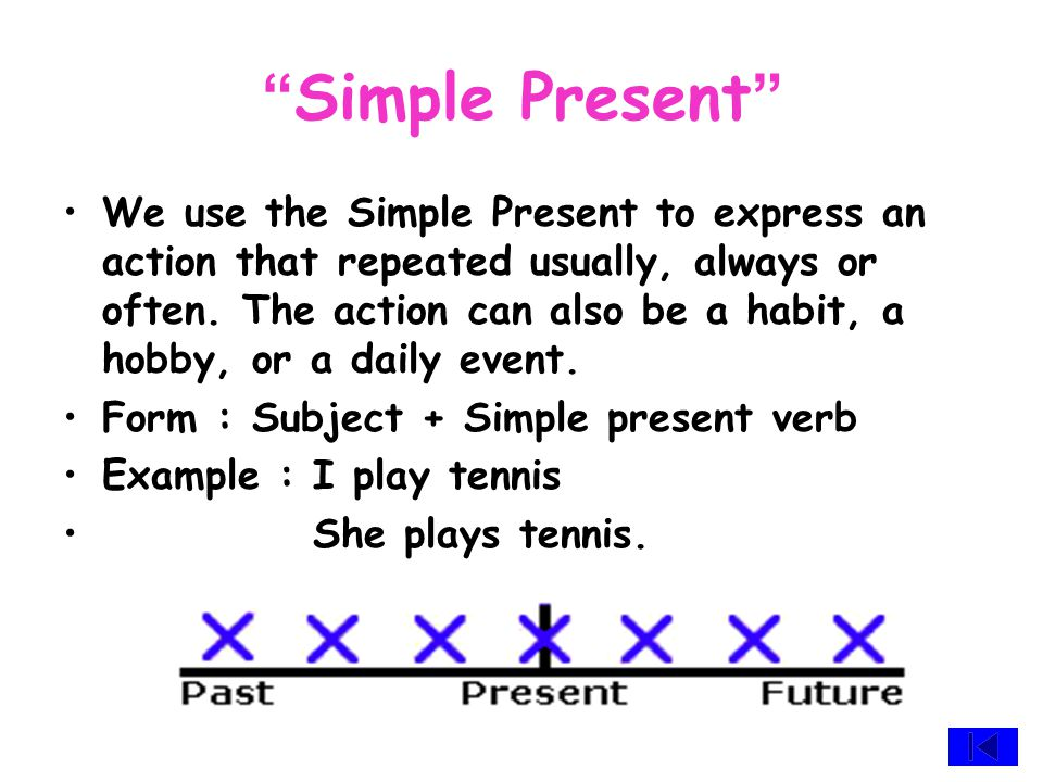 Context Simple Past Simple Present Past Continuous Past Perfect Continuous Present Perfect Continuous Present Continuous Present PerfectPast Perfect Exercise