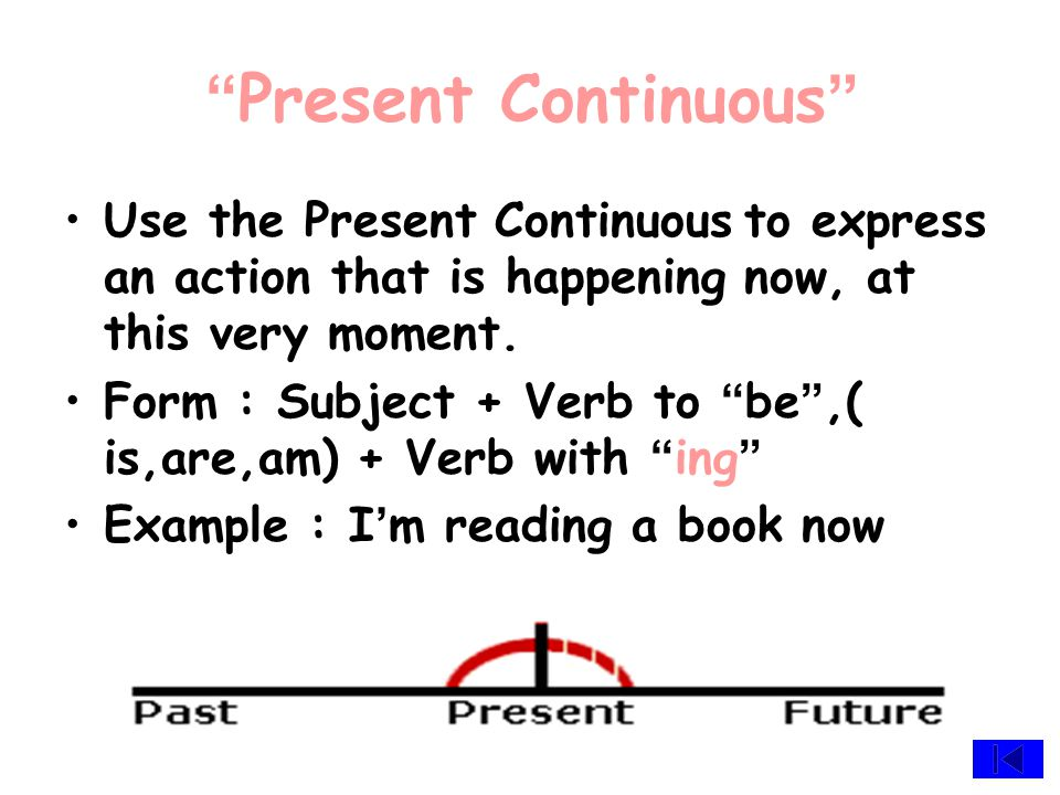 """ Simple Past "" We use the Simple Past to express an action started and finished at a specific time in the past. Form : Subject + Simple past Example"