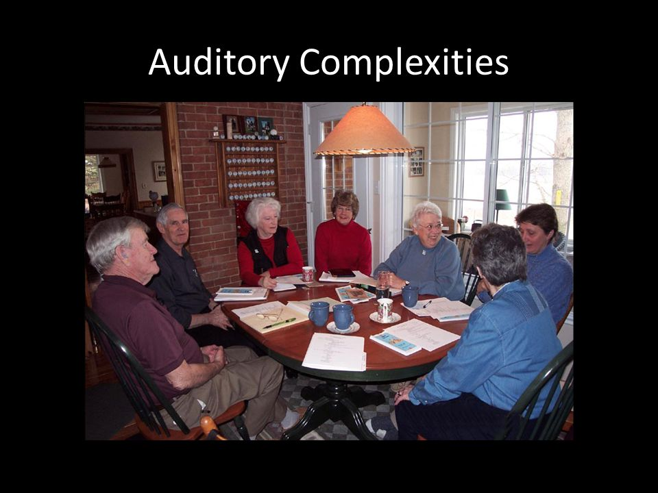 Auditory Complexities