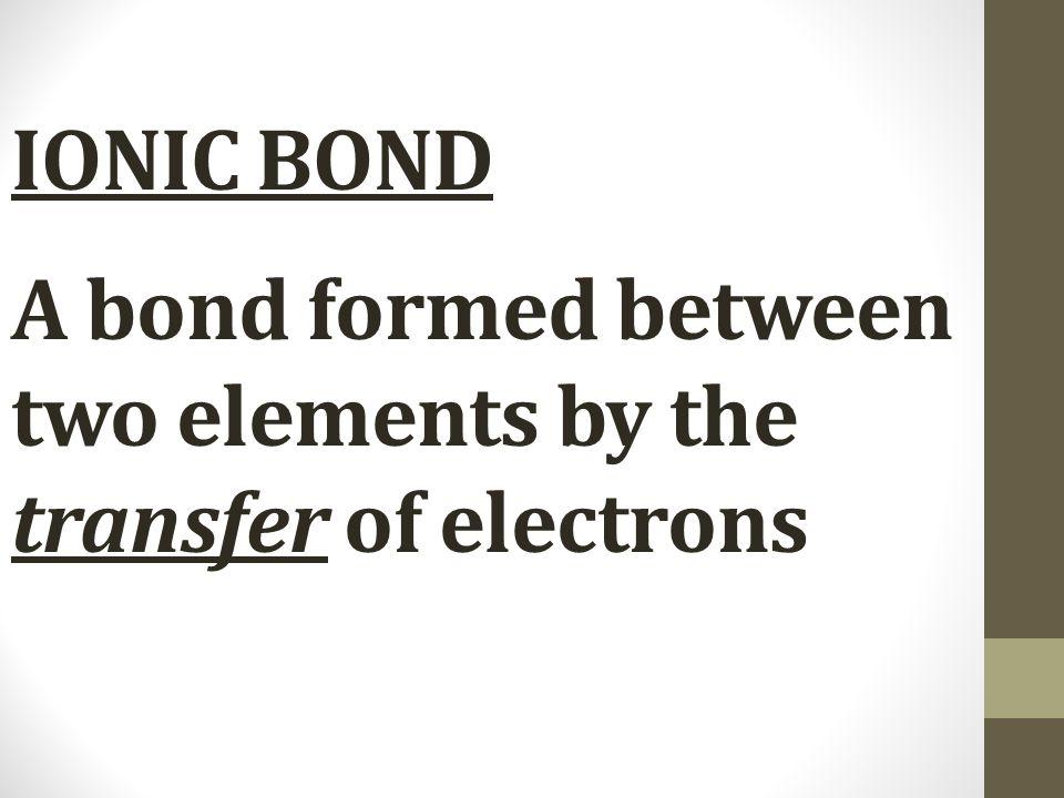 Metallic Bond: A Sea of Electrons