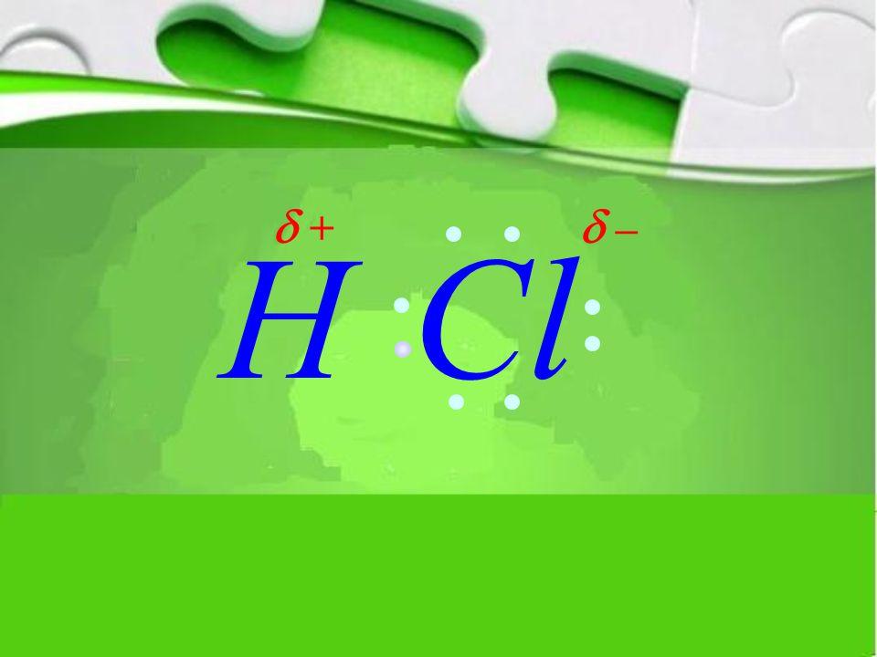 HCl  –  +