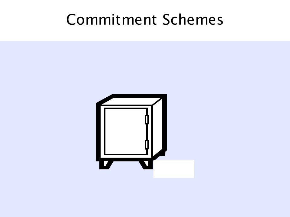 Commitment Schemes