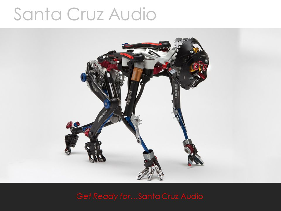 Mirror Black Santa Cruz Audio / Product One jaywilsondesign March 2013 Santa Cruz Audio Get Ready for…Santa Cruz Audio