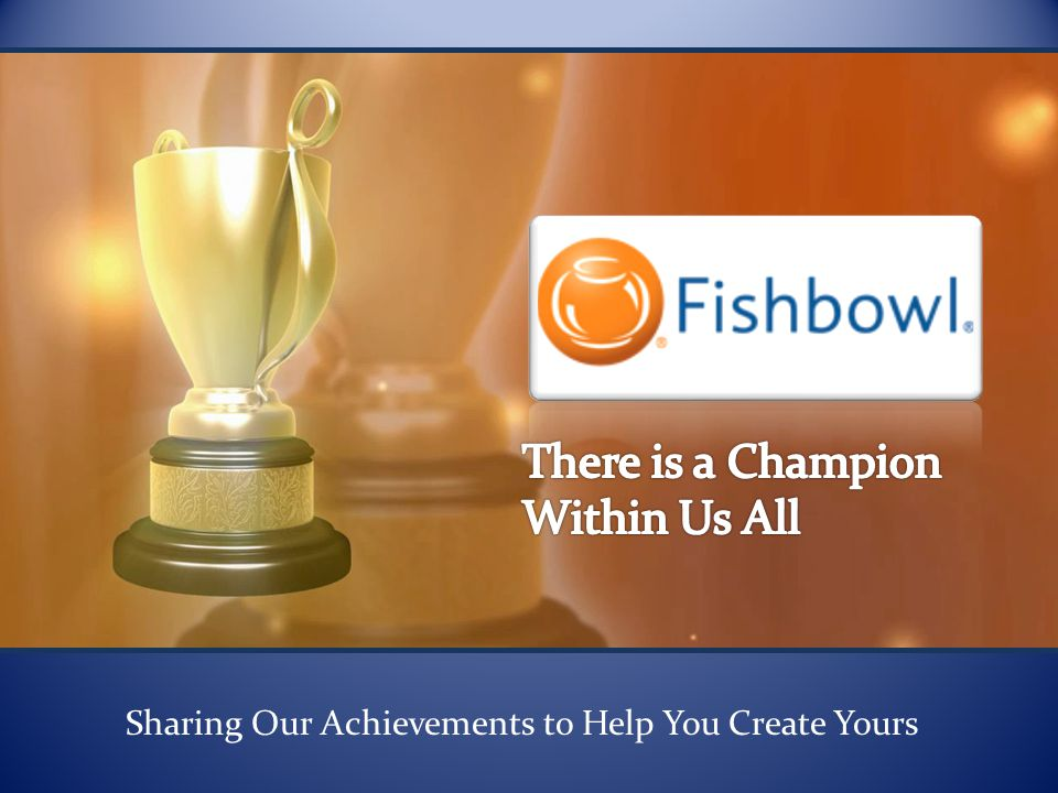 Sharing Our Achievements to Help You Create Yours