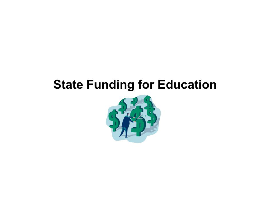State Funding for Education