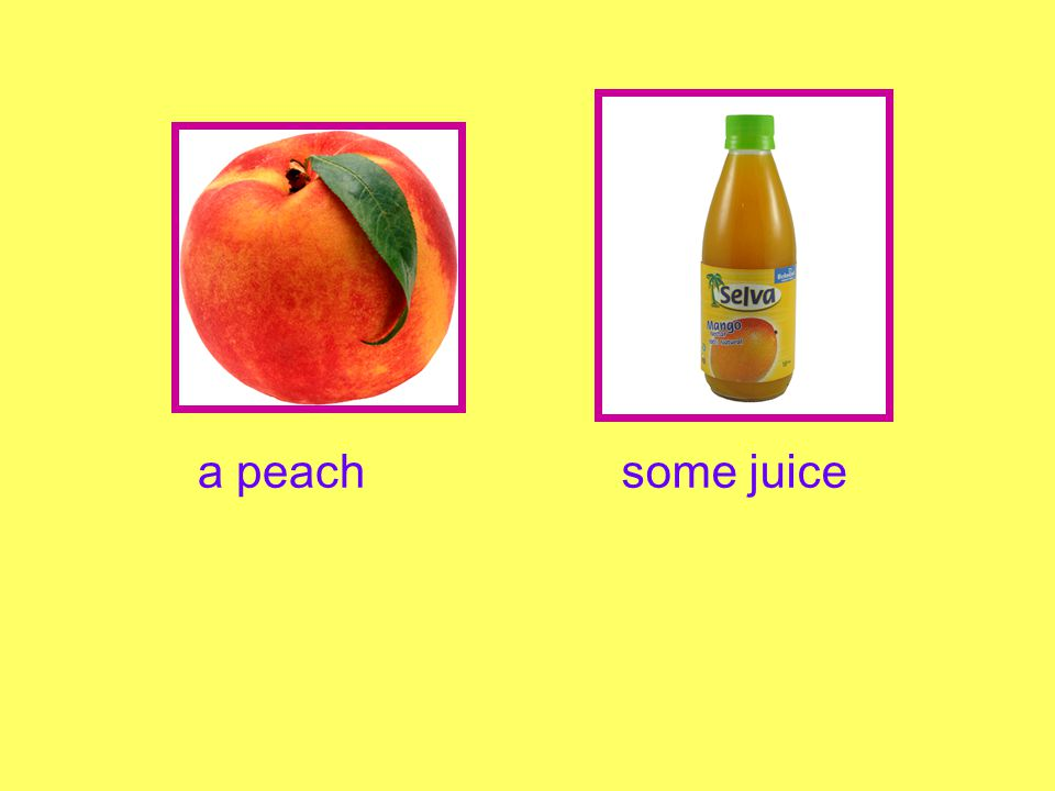 a peachsome juice