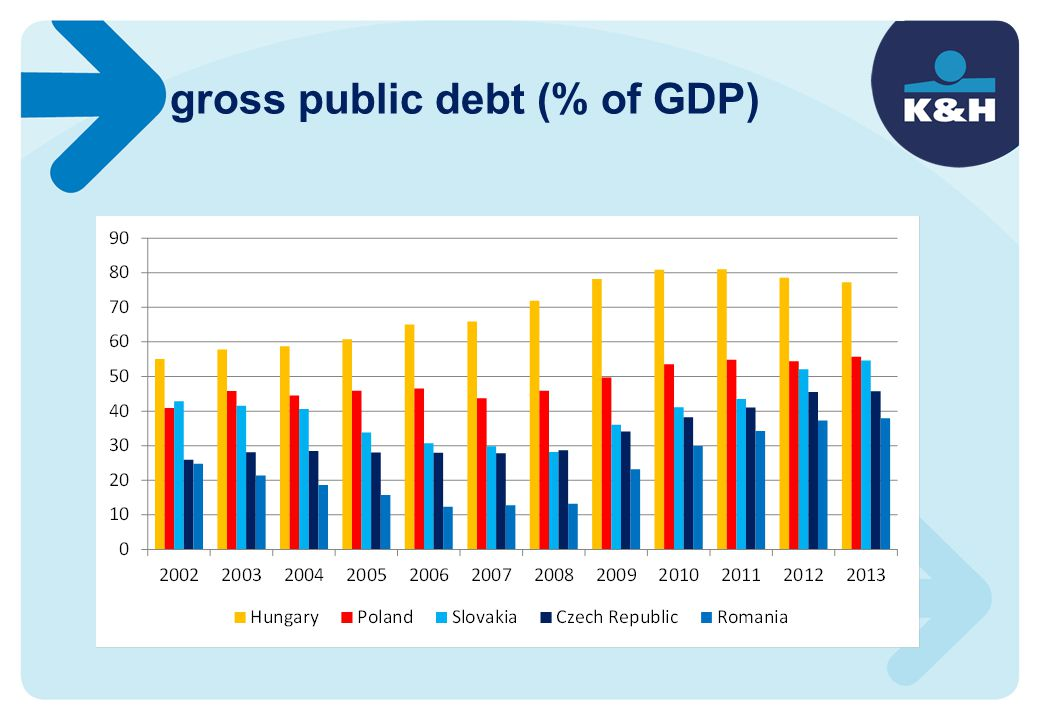 gross public debt (% of GDP)