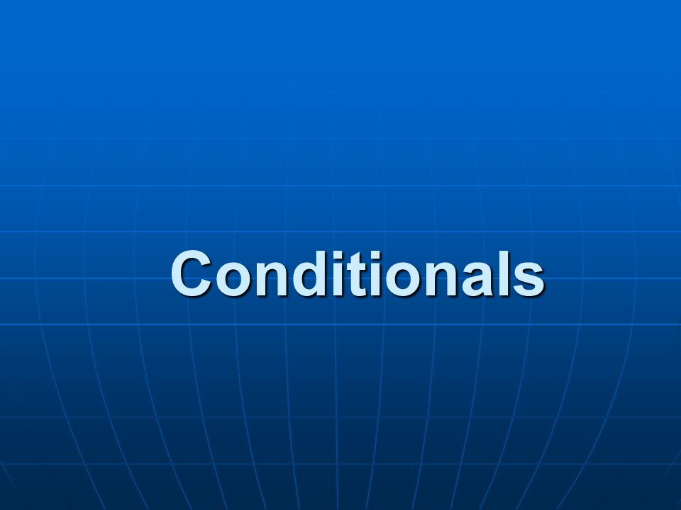 The Zero Conditional If the telephone rings, it makes a noise! Water evaporates if you boil it.