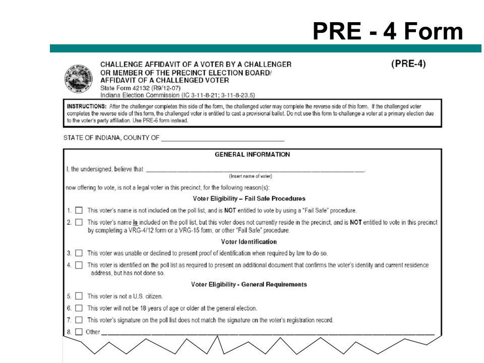 20 PRE - 4 Form