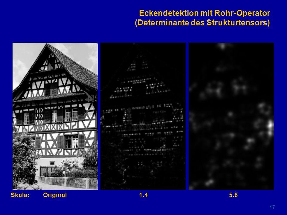 16 Kantenextraktion aus Nulldurchgängen (Marr/Hildreth- bzw.