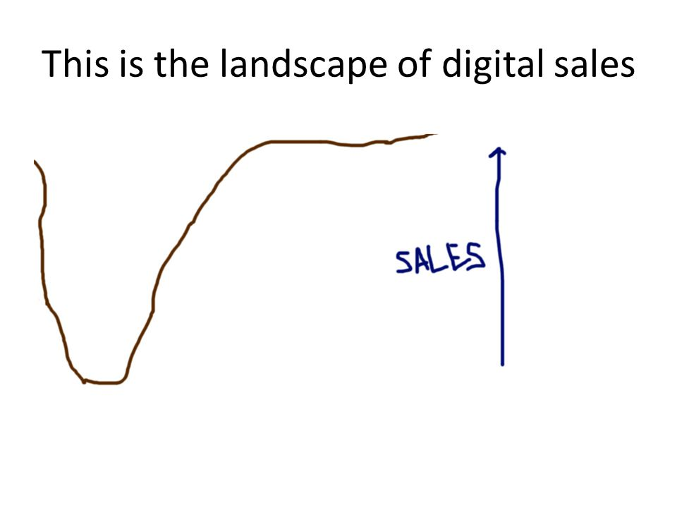 This is the landscape of digital sales