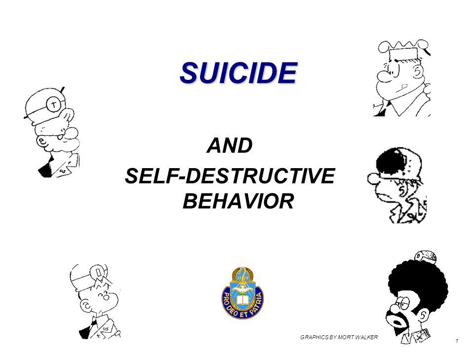 SUICIDE AND SELF-DESTRUCTIVE BEHAVIOR 1 GRAPHICS BY MORT WALKER
