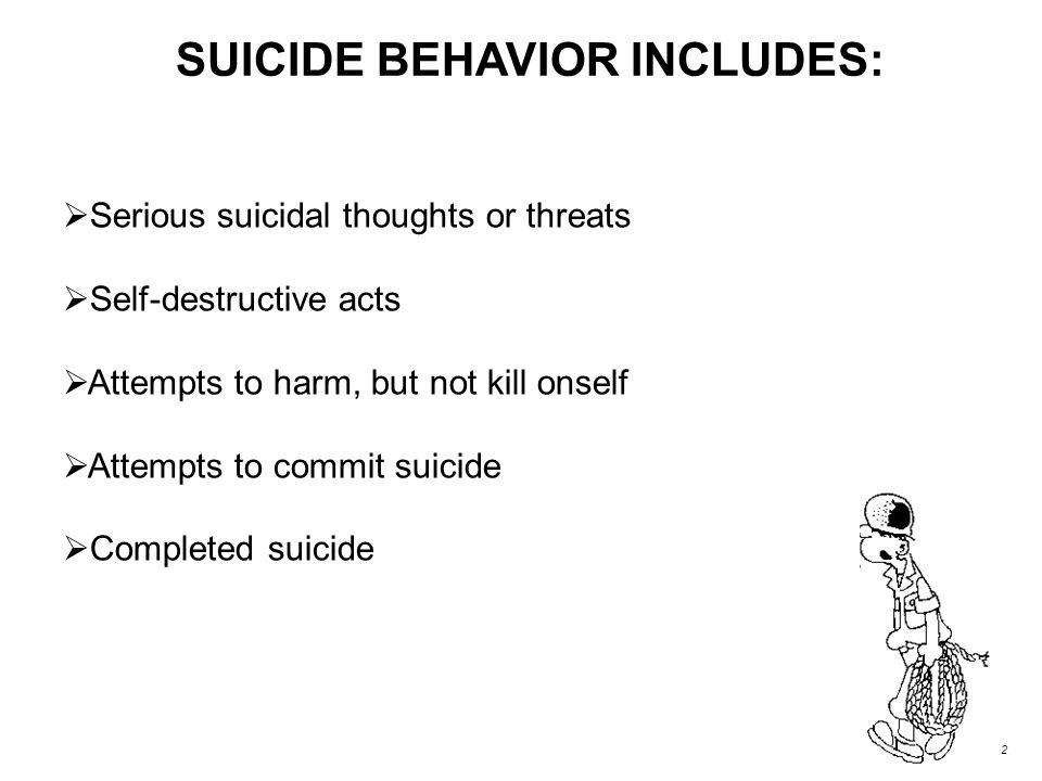 HOW CAN WE HELP? By learning how to recognize the suicidal person…. 6