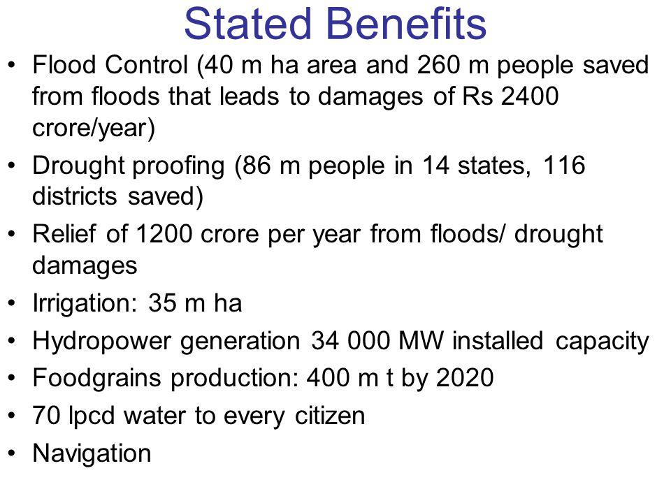 Ken Betwa Link FR When Ken has floods, so has Betwa, when Betwa faces water scarcity, so does Ken.