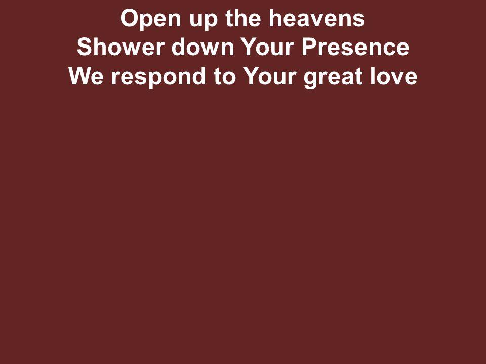 Hallelujah, hallelujah Hallelujah, Your love makes me sing