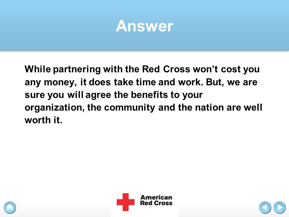 Question How long does it take to plan a blood drive?
