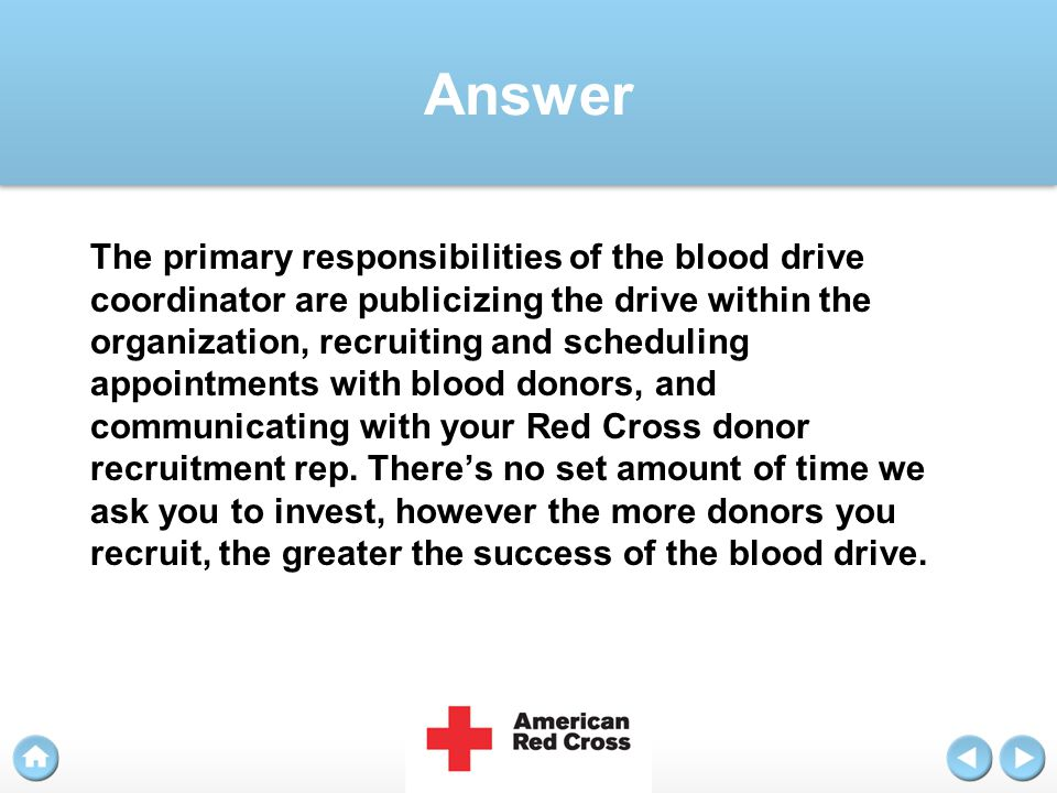 Question Who can donate blood?
