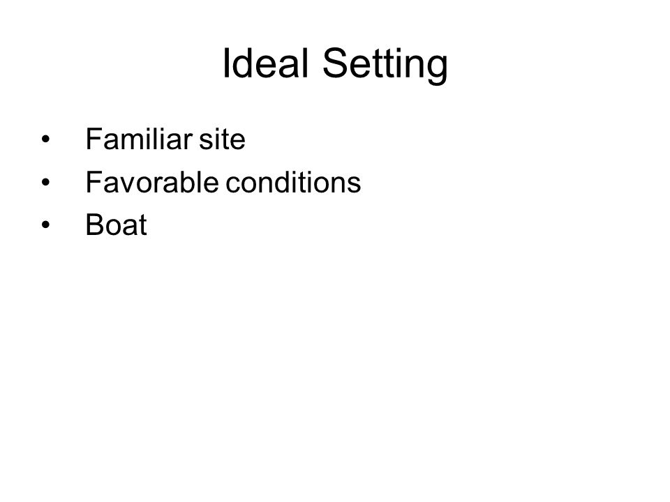 Have We Covered Ideal setting Buddy techniques Communications Light etiquette Navigation Avoiding disorientation Required equipment Lighting concerns