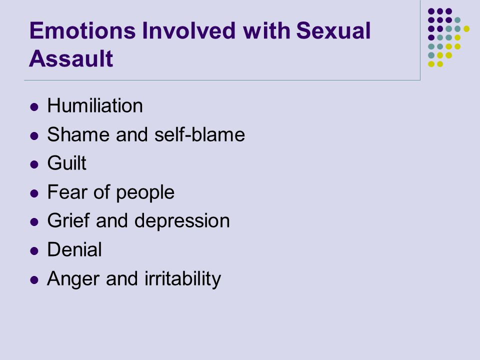 Issues Specific to Sexual Assault Sexual assault is one of the few crimes that requires intense scrutiny into the believability of the victim's description of the event It is probably the only crime in which the suspect can successfully defend himself by claiming the victim consented to the crime