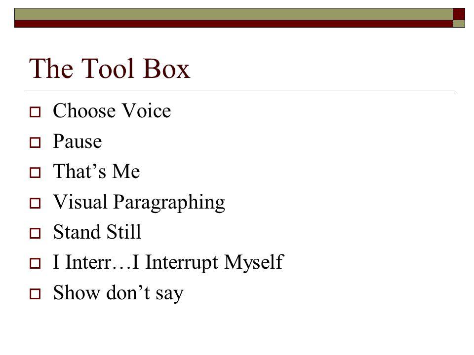 Thinking Types  Recognizing your audiences thinking type 1.) Visual 2.) Auditory 3.) Kinesthetic