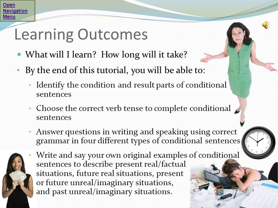 What are conditional sentences.
