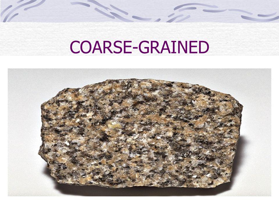 COARSE-GRAINED