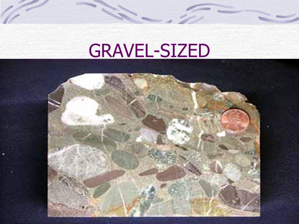 GRAVEL-SIZED