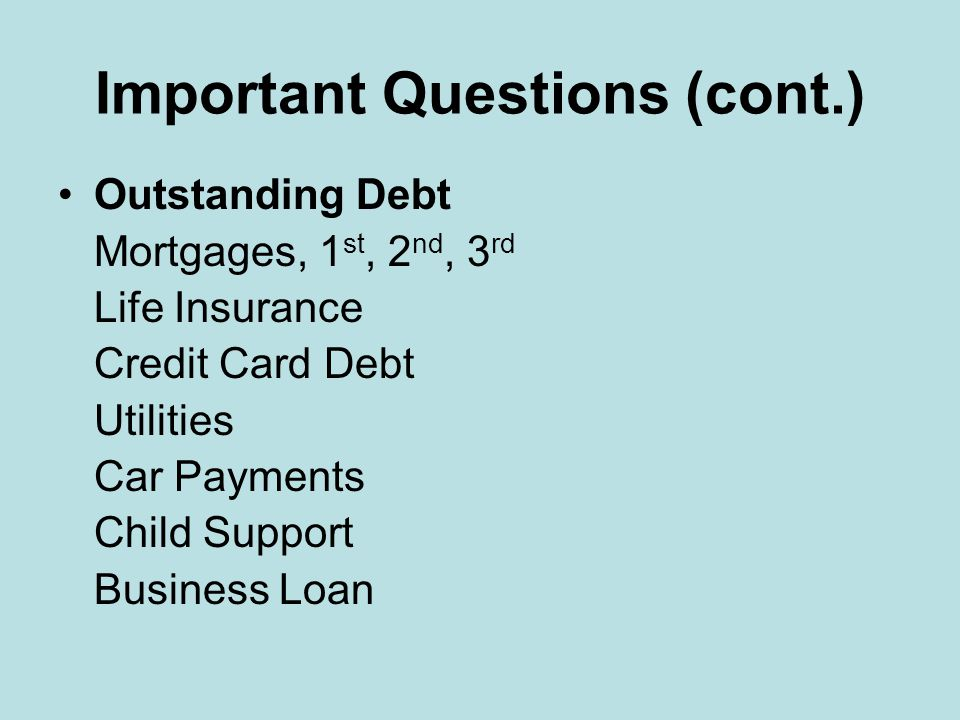 Important Questions Do you have any legal charges pending or fear of possible charges, i.e. insufficient fund checks, kited checks, advanced checks, t