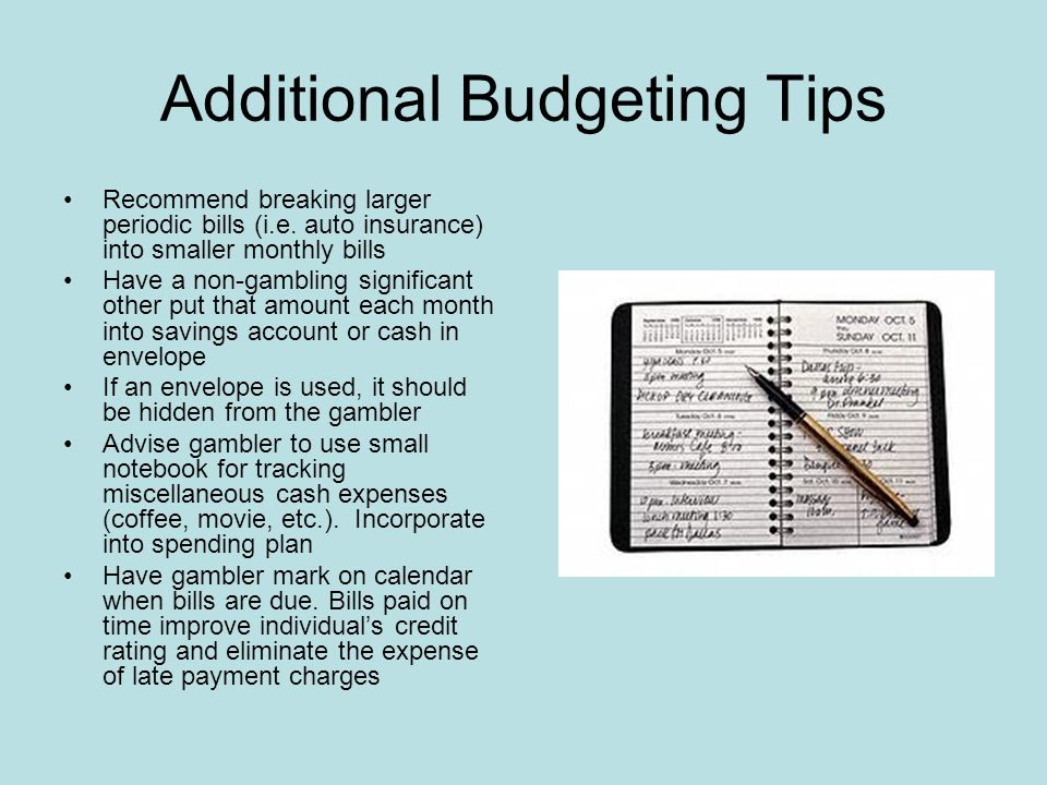 Tips On Cutting Expenses Sticking to a shopping list Shopping for bargains and sales Comparing prices Using coupons Eating out less often http://www.bellaonline.com/articles/art34742.asp