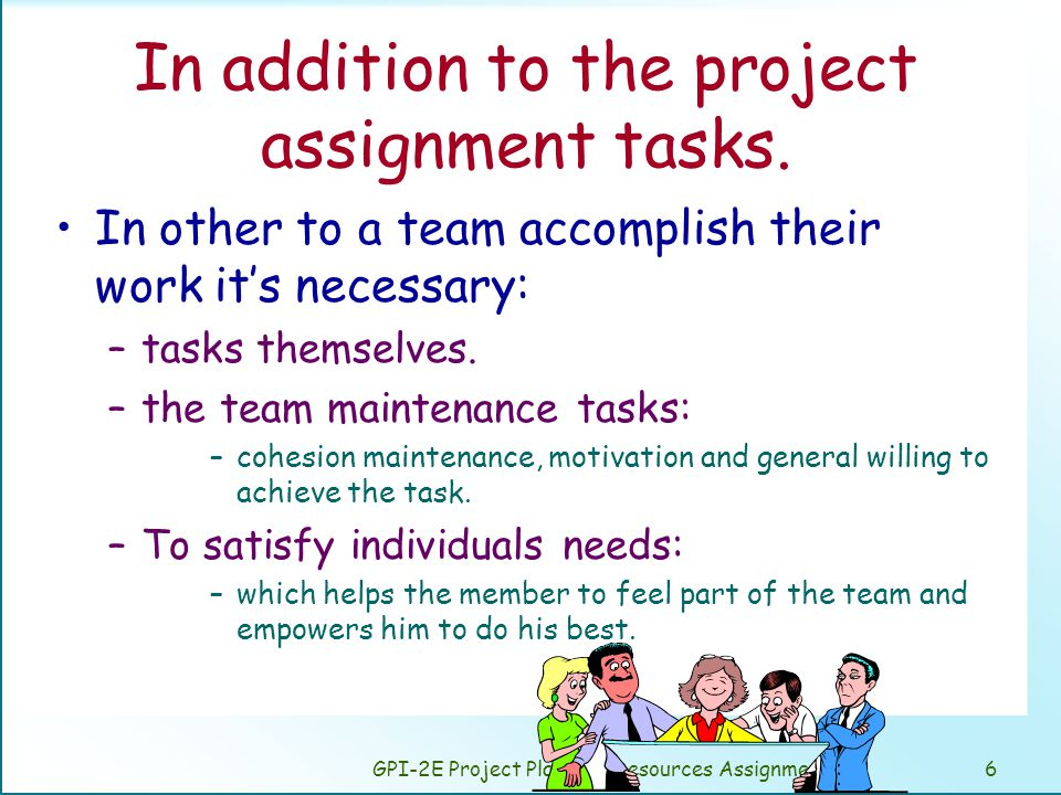 GPI-2E Project Planning: Resources Assignment17 Putnam y Norden empirical method.