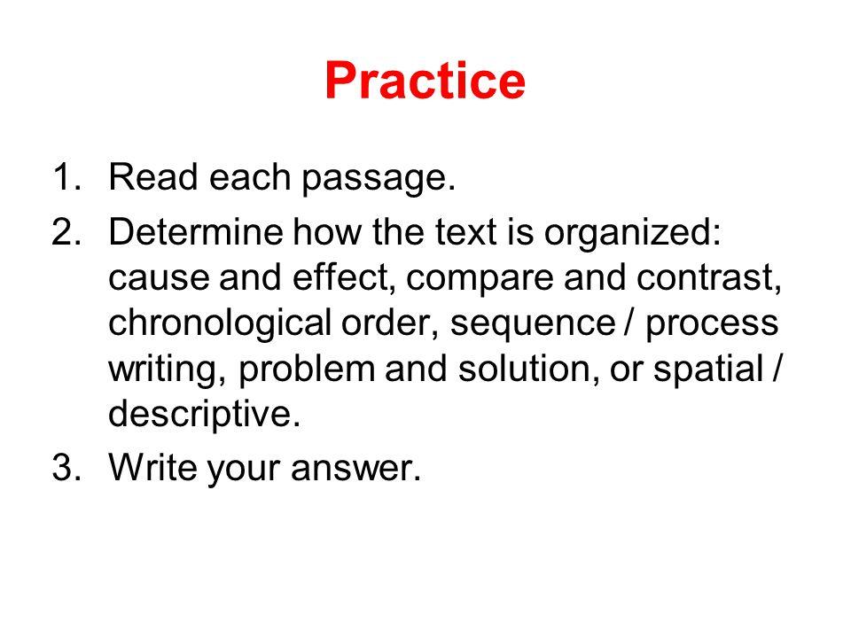 Practice 1.Read each passage.