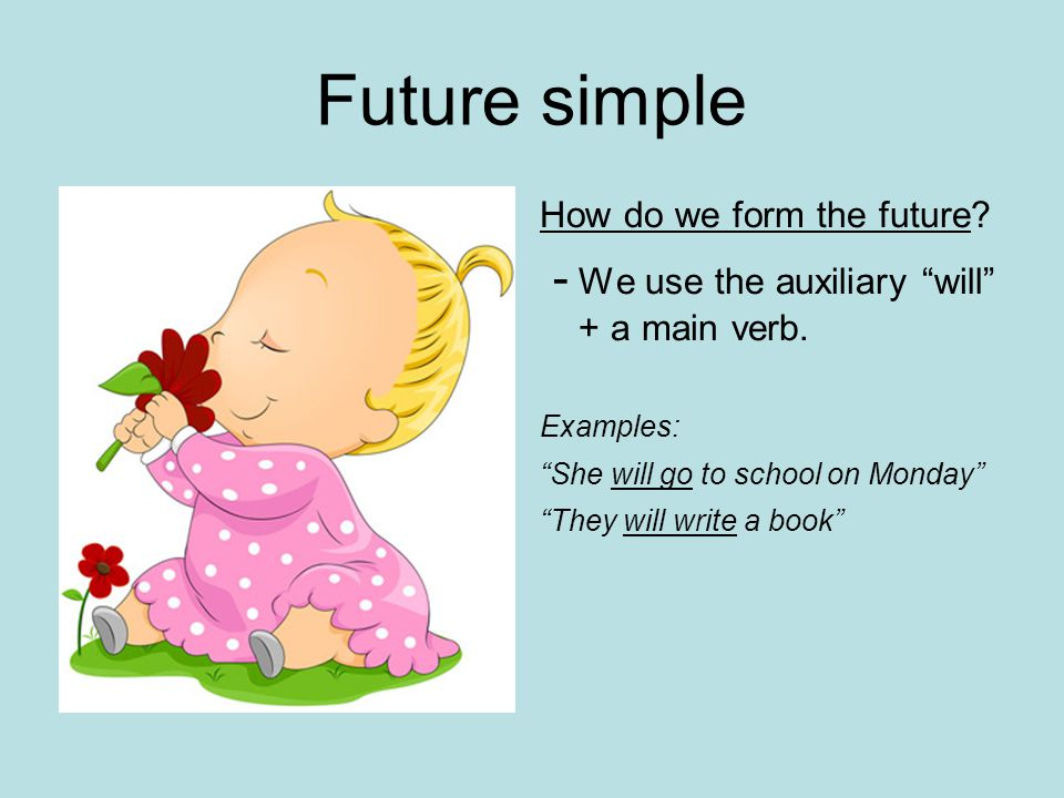 Will-won t  Future simple Will is used in: -AFFIRMATIVE -NEGATIVE & -INTERROGATIVE SENTENCES With all personal pronouns: I/you/He/She/It/we/they