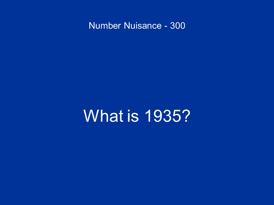 Number Nuisance - 400 Disability insurance became a part of Social Security in the 1950s.