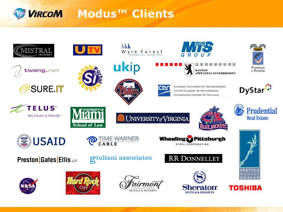 Modus™ Clients
