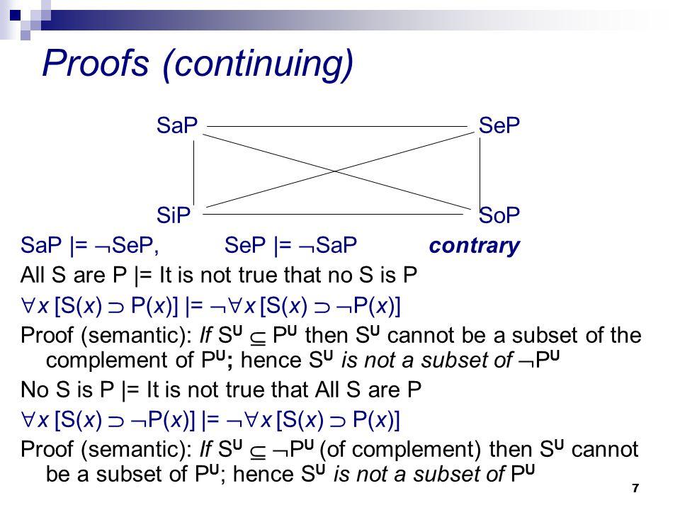 28 Venn's diagrams and syllogisms p 1 : No bird is a mammal.