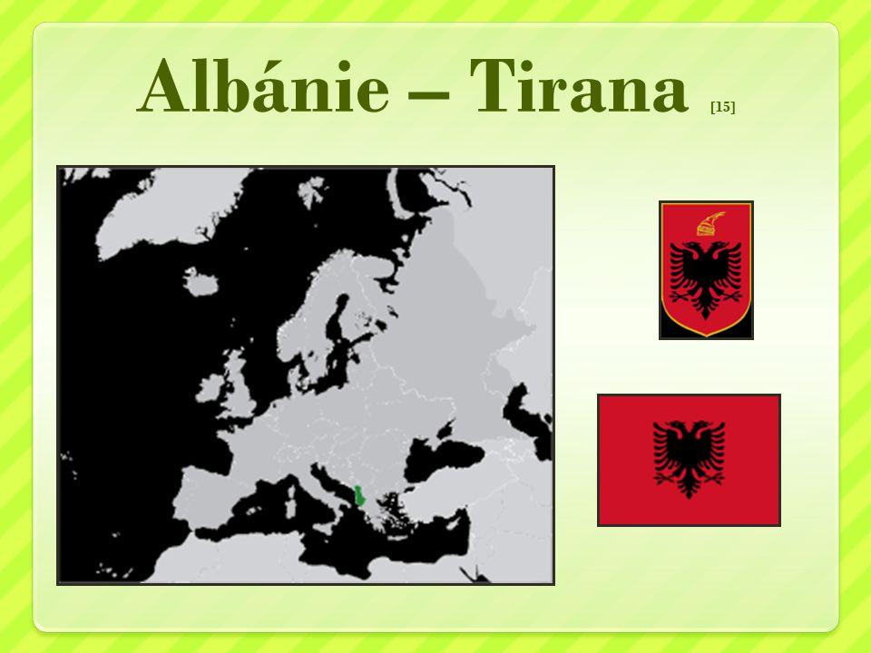 Albánie – Tirana [15]