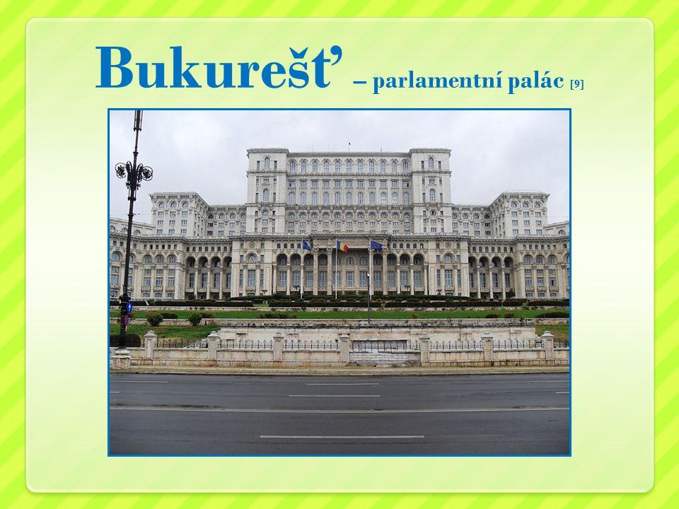 Bukureš ť – parlamentní palác [9]