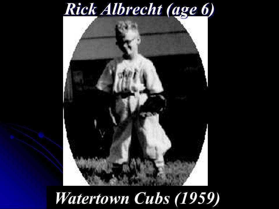 Rick Albrecht (age 6) Watertown Cubs (1959)