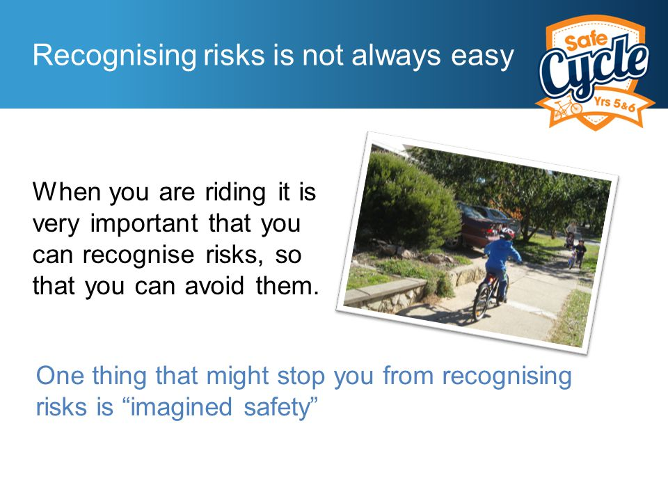 What is imagined safety .Some people think they are already the best.