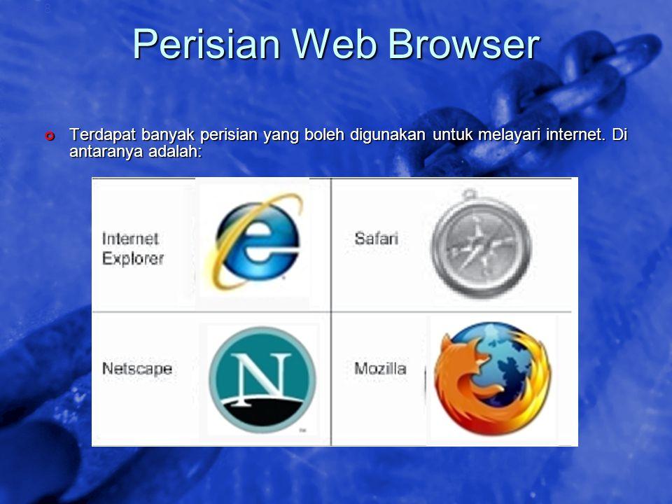 © 2002 By Default! A Free sample background from www.awesomebackgrounds.com Slide 18 Perisian Web Browser Terdapat banyak perisian yang boleh digunaka