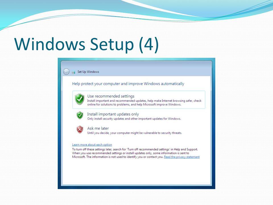 Windows Setup (4)