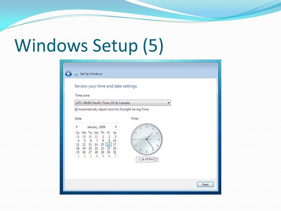 Windows Setup (5)