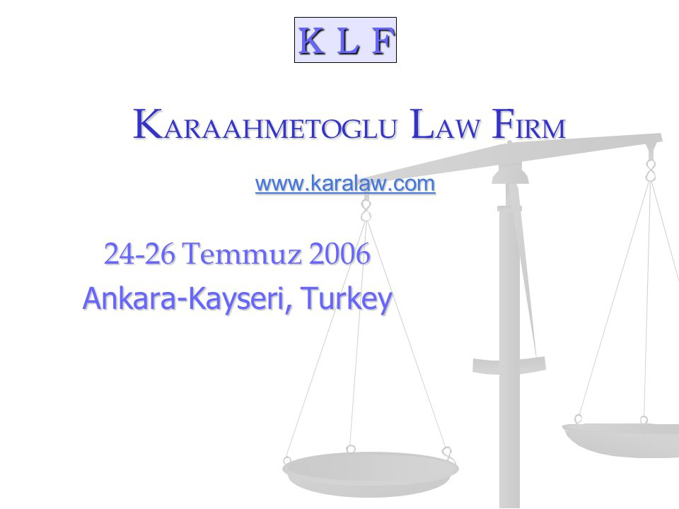 K L F 7/24/06New York - Istanbul - Los Angeles22 Amerika'da Ticaret Doing Business in the US Understand the US market, most competitive market (Amerikan Pazarini iyi anlayin-en rekabetci Pazar) Understand the US market, most competitive market (Amerikan Pazarini iyi anlayin-en rekabetci Pazar) Study the US doing way of business (states) Istanbul v.