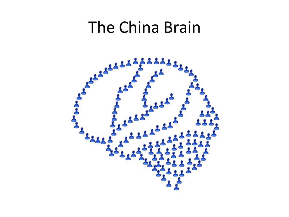 The China Brain