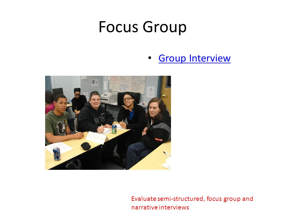 Focus Group Strengths Convenient way to gather info.