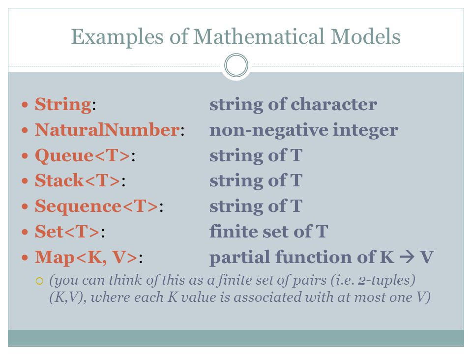 Use correct math notation.The mathematical notation we use is very precise.