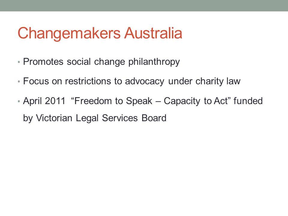 Why advocacy.