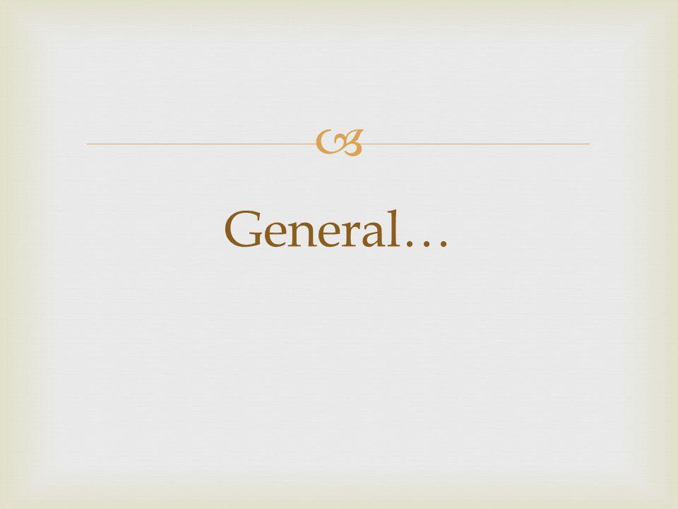  General…