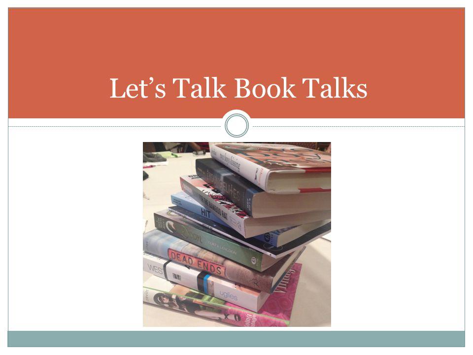 Let's Talk Book Talks