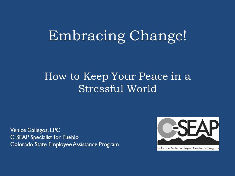 Embracing Change.